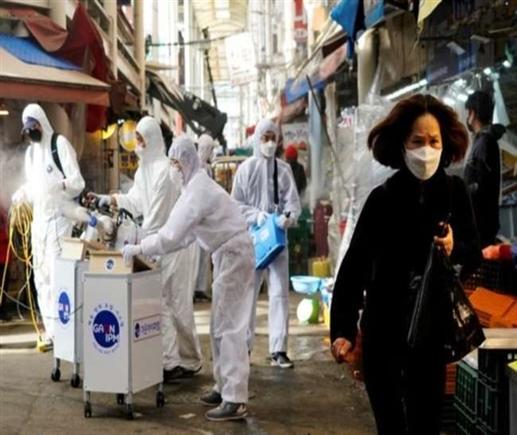 South Korea knocks record Covid 19 cases in one day increasing government concern | ਦੱਖਣੀ ਕੋਰੀਆ 'ਚ ਇਕ ਦਿਨ ਵਿਚ ਰਿਕਾਰਡ Covid-19 ਮਾਮਲਿਆਂ ਦੀ ਦਸਤਕ