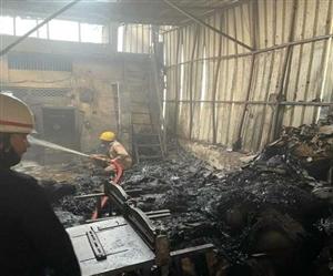 Delhi Fire News : ਫਾਈਲ ਕਵਰ ਬਣਾਉਣ ਦੀ ਫੈਕਟਰਰੀ 'ਚ ਲੱਗੀ ਅੱਗ, ਸਾਮਾਨ ਸੜ ਕੇ ਸੁਆਹ