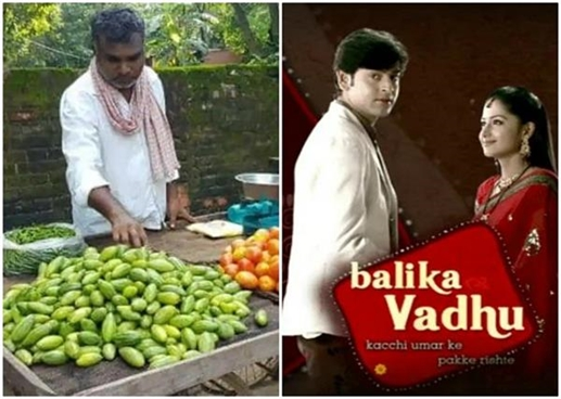 The director of the famous series Baalika Vadhu is selling vegetables