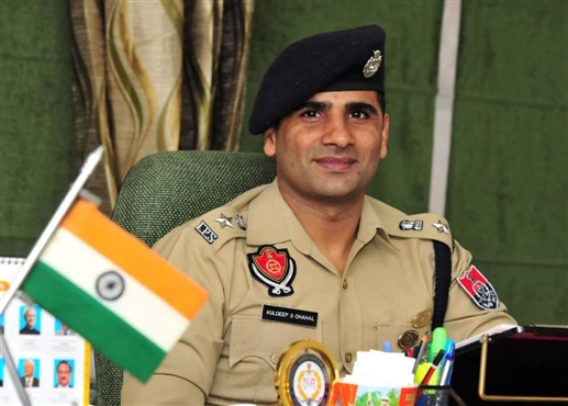 kuldip singh chahal will new ssp of chandigarh