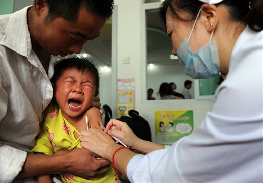 China is unsafe vaccinating its own people