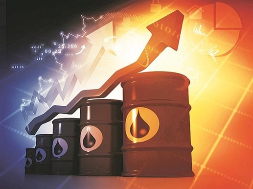 International crude oil prices hit 80 a barrel amid fears of rising oil prices