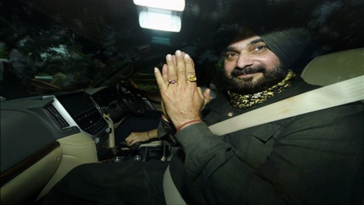 Navjot Singh Sidhu resignation was not accepted the High Command told the PPCC find a solution