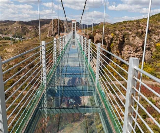 Now travelers can enjoy Glass Skywalk in the country so will the fare
