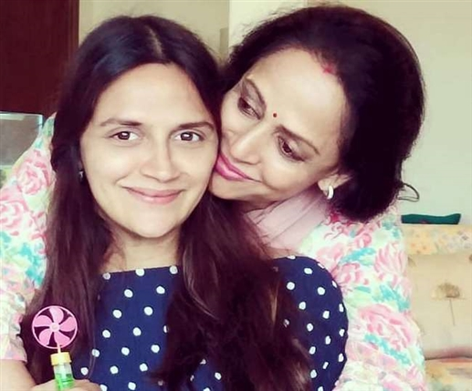 hema malini and dharmendra daughter ahana deol blessed with twin girls