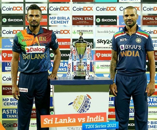 Ind vs SL Sri Lanka beat India by 4 wickets in second T20 match series tied