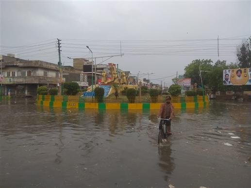 80 mm rain in eight hours intermittent rain expected today Meteorological Department forecasts daily rain till August 1 | ਅੱਠ ਘੰਟਿਆਂ ਵਿਚ ਹੋਈ 80 ਮਿਲੀਮੀਟਰ ਬਾਰਸ਼
