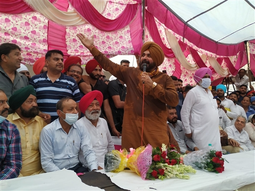 CM should repeal agriculture laws like Captain SYL  said navjot Sidhu