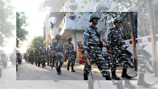 Central squad deployed on Assam Mizoram border within 100 meters of state police personnel