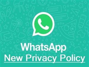 WhatsApp Privacy ਪਾਲਿਸੀ 'ਤੇ ਆਇਆ ਨਵਾਂ ਅਪਡੇਟ, ਯੂਜ਼ਰਜ਼ ਨੂੰ ਮਿਲੇਗੀ ਰਾਹਤ; ਪੜ੍ਹੋ ਪੂਰੀ ਡਿਟੇਲ