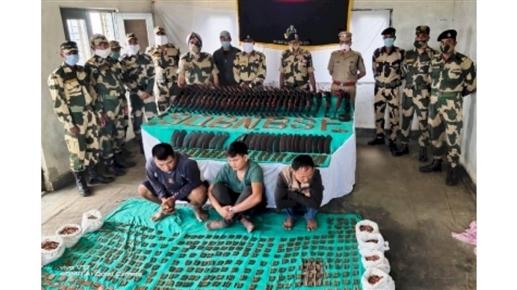 Three arrested in Mizoram