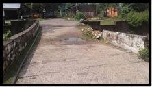 ਦੇਪਰ ਦੇ ਮਿਡਲ ਸਕੂਲ ਕੋਲ ਕੰਢੀ ਨਹਿਰ 'ਤੇ ਬਣੇ ਪੁਲ ਦੀ ਹਾਲਤ ਖਸਤਾ