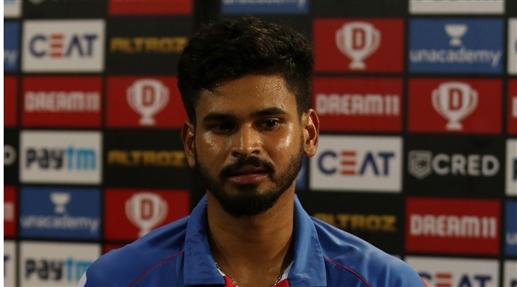 IPL 2020 Shreyas fined Rs 12 lakh for slow over speeding