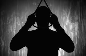 The man hanged himself for domestic violence